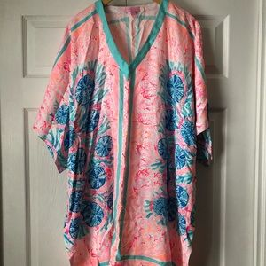 Lilly Pulitzer V-Neck Cover-Up